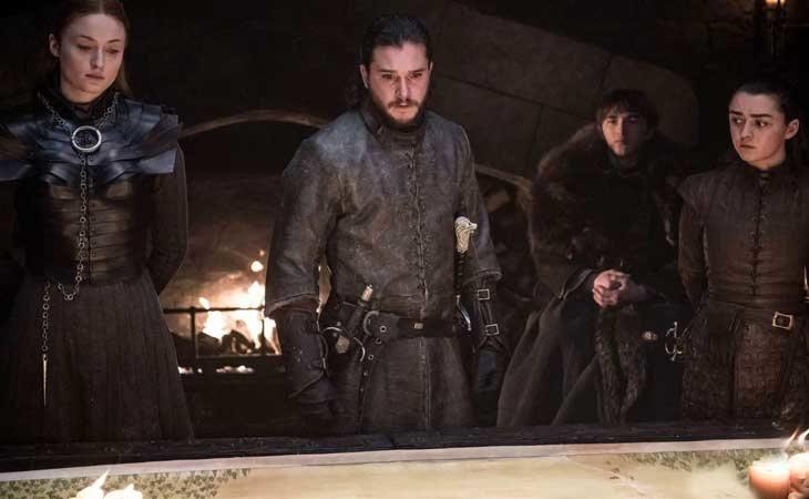 Los Stark en la 8t de 'Juego de Tronos'