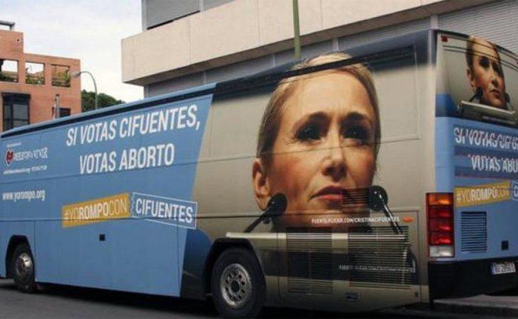 La Justicia ya avaló una campaña de Hazte Oír en contra de Cristina Cifuentes