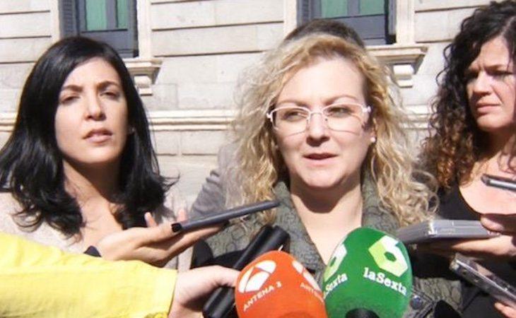 María Sevilla era la presidenta de Infancia Libre, y la primera detenida