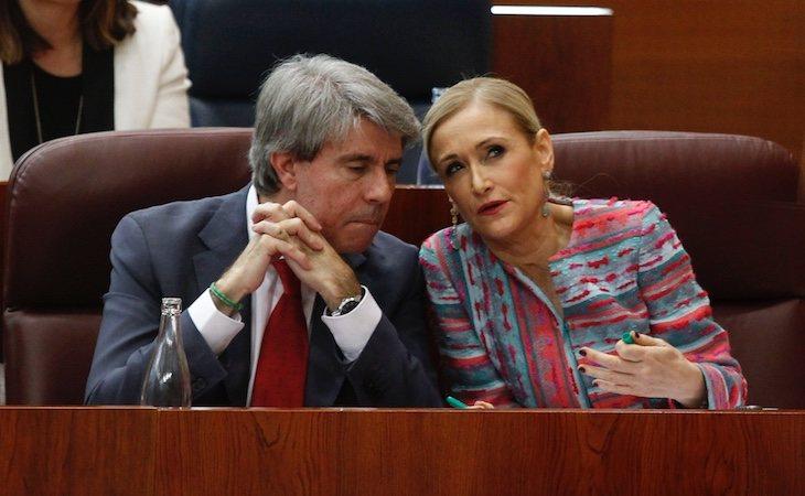 Ángel Garrido asumió la presidencia del Canal cuando Cristina Cifuentes se hizo con el bastón de mando de la Comunidad de Madrid
