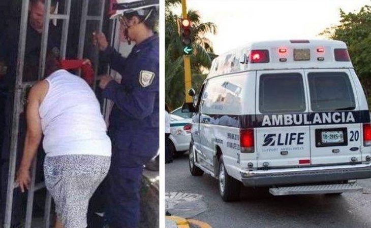 Los servicios de emergencias tuvieron que acudir a la vivienda para liberar a la mujer atrapada entre los barrotes