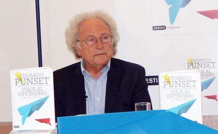 Eduard Punset escribió más de 30 libros como divulgador científico
