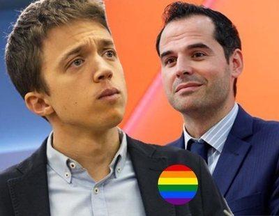 """Errejón pide a Cs que no pasee la bandera LGTBI """"para luego pactar con va a cerrar los armarios"""""""