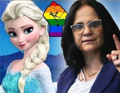 """La ministra de Mujer de Brasil quiere vetar 'Frozen': """"Convierte a las niñas en lesbianas"""""""