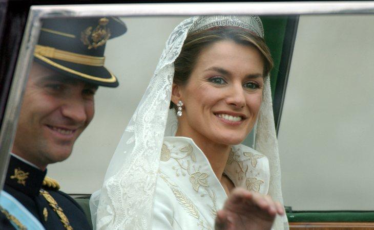 Letizia casi anuló su boda con Felipe