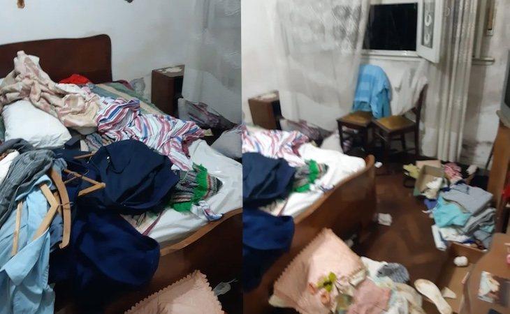 Los asaltantes entraron por la ventana del dormitorio del anciano