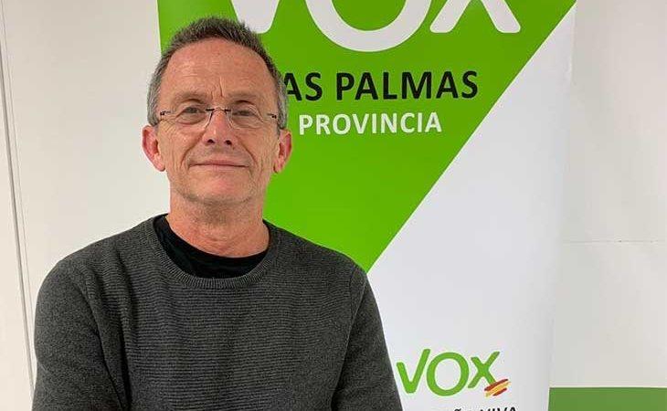 Carmelo González, candidato de VOX en Canarias