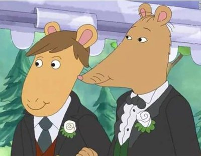 Alabama censura la boda gay de 'Arthur', la serie infantil