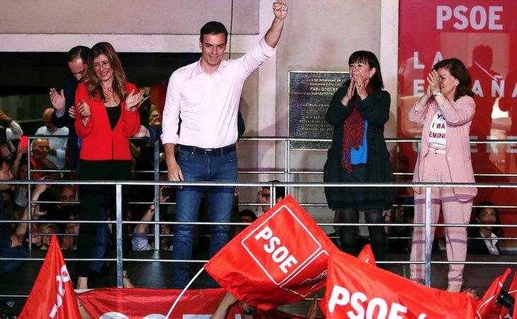 Los socialistas gobernarían las autonomías de Madrid, Aragón, Castilla-La Mancha y Baleares, según los sondeos