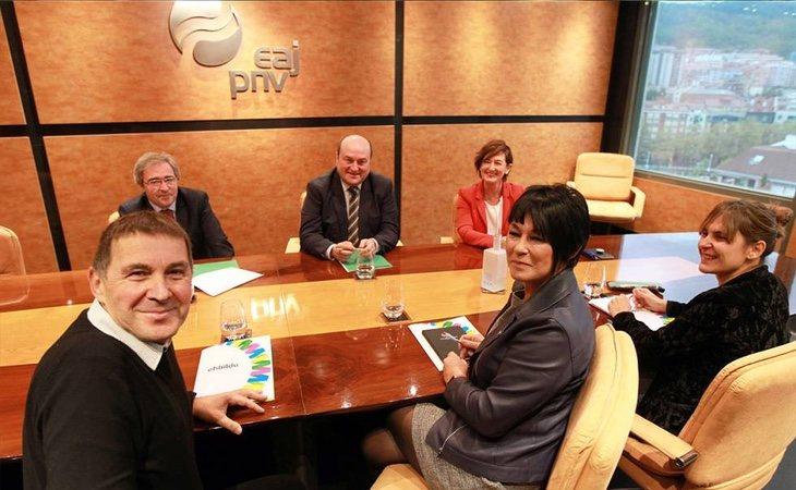 PNV y Bildu se sitúan como los dos grandes partidos en el País Vasco en estas elecciones municipales