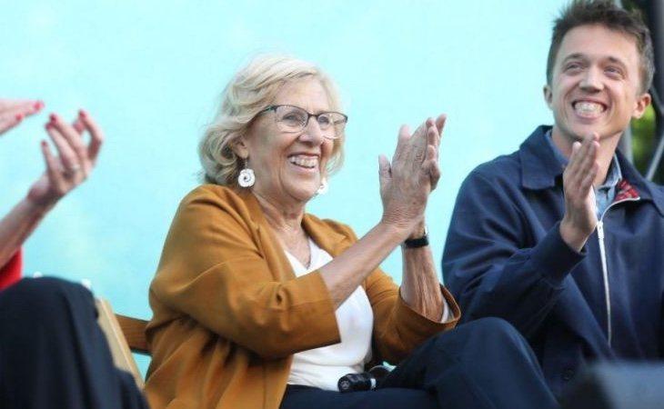 Carmena revalida el Ayuntamiento de Madrid con holgura con casi el 20% escrutado