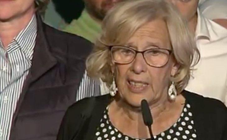 Carmena confirma que abandonará la política cuando PP, Ciudadanos y VOX aprueben el mandato de Almeida, como prometió