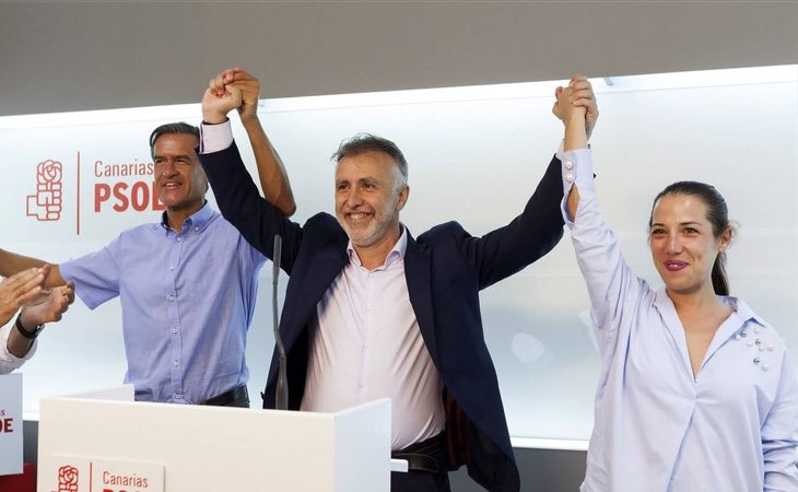El PSOE desaloja del poder a Coalición Canaria en las islas por primera vez desde 1999 con el 80% escrutado