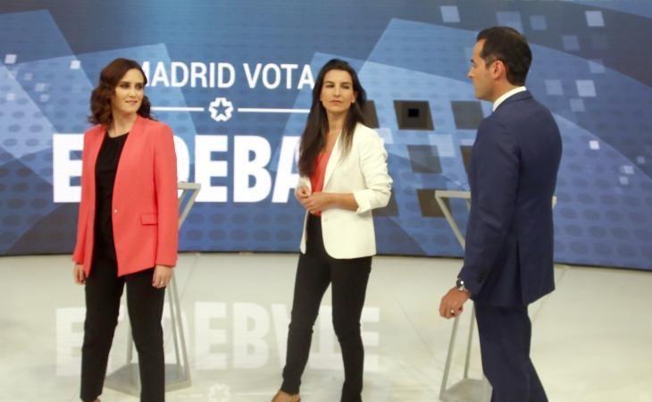 Díaz Ayuso ofrece consejerías a VOX, como reclamaba la formación de Santiago Abascal