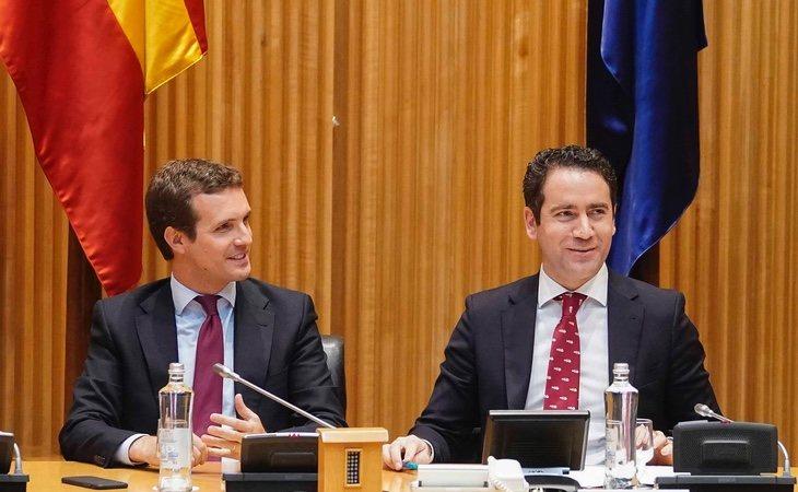 Los 'sorayos' quieren el relevo del secretario general, Teodoro García Egea