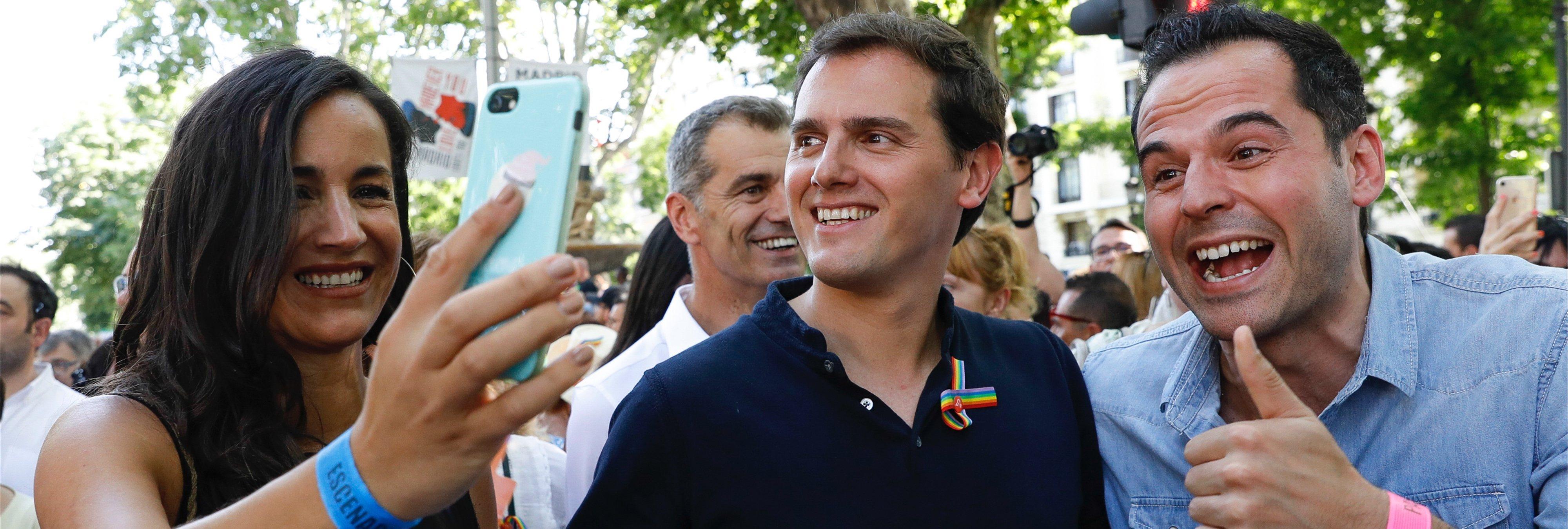 Ciudadanos rechaza participar en la cabecera del Orgullo LGTBI de Madrid de 2019