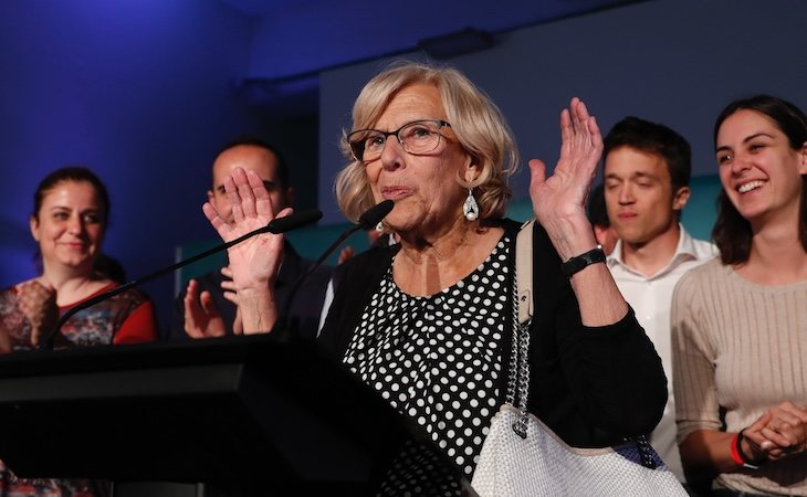 Manuela Carmena se despidió del Ayuntamiento de Madrid