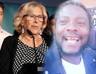 """El viral 'camerunés de VOX', a Carmena: """"Vete a hacer magdalenas, vieja del visillo"""""""