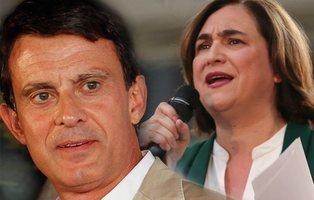 Valls ofrece su apoyo a Ada Colau para hacerla alcaldesa de Barcelona