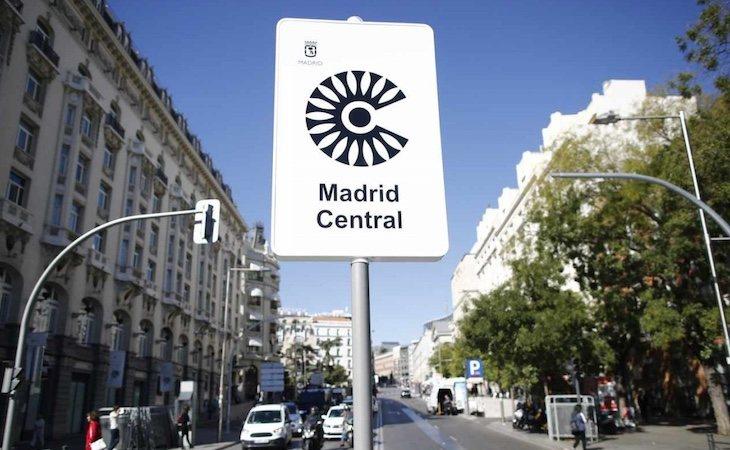 Madrid Central ha conseguido reducir considerablemente las emisiones contaminantes de la ciudad