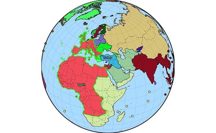 El Gran imperio español