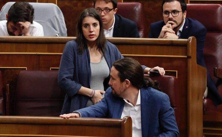 Podemos tiene serios problemas de liderazgo fuera de la pareja que forman Pablo Iglesias e Irene Montero