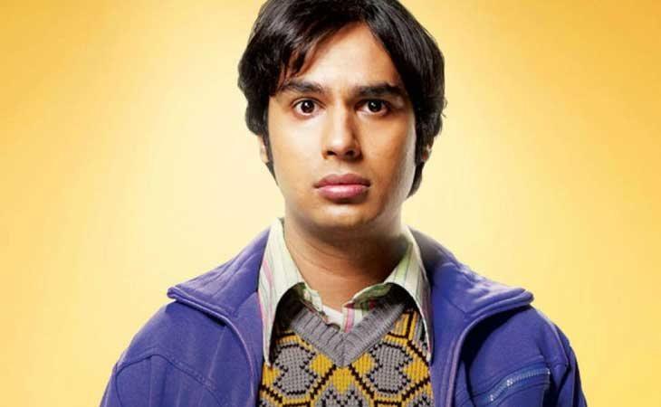Rajesh de 'The Big Bang Theory'