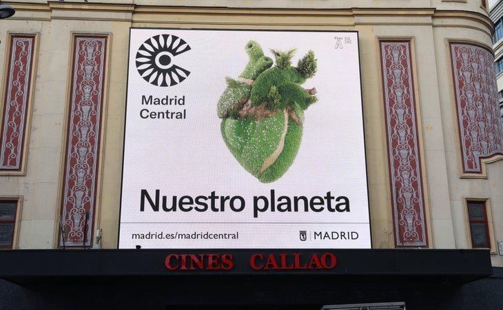 Madrid Central ha permitido descender hasta un 48% las emisiones de NO2 en el entorno de la Gran Vía