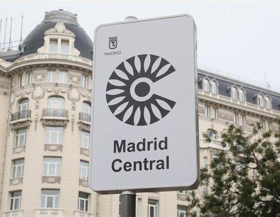 Recogen firmas para evitar que PP, VOX y Ciudadanos acaben con Madrid Central