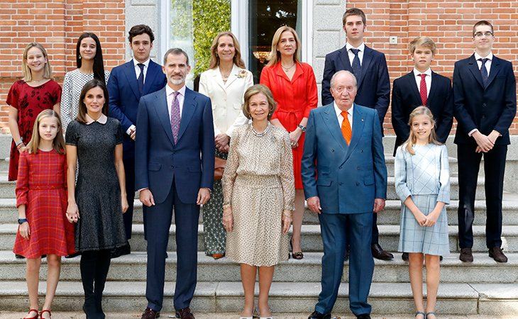 La Casa Real decidió reducir los títulos después de que abdicara Juan Carlos