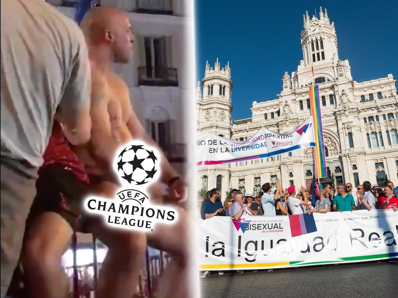 El doble rasero con que se pide esconder el Orgullo en la Casa de Campo y se abraza a los hooligans de la Champions