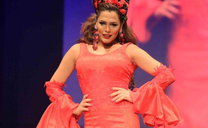 Amor Romeira ha sido modelo en varias ocasiones