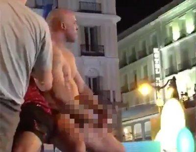 Detenido por abusar de una turista, masturbarse en la Puerta del Sol y golpear a la Policía