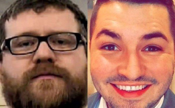 Benedict Clayton (izquierda) está detenido por el asesinato de James Porter (derecha)