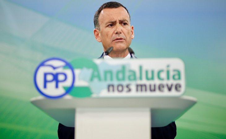 Pablo Venzal es el portavoz de Hacienda en el Parlamento andaluz