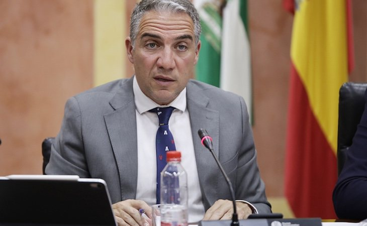 Elías Bendodo es el consejero de Presidencia del Ejecutivo andaluz