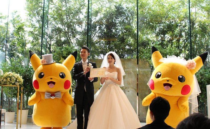 Pikachu puede ser testigo oficial de una boda en Japón