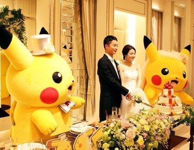 Bodas Pokémon: así son los matrimonios legales con Pikachu de testigo que causan furor