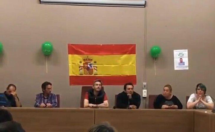 Mitin de VOX en Alfarràs liderado por Antonio