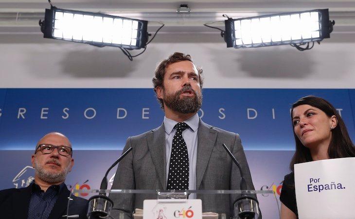 Espinosa de los Monteros todavía no ha presentado su patrimonio al Congreso