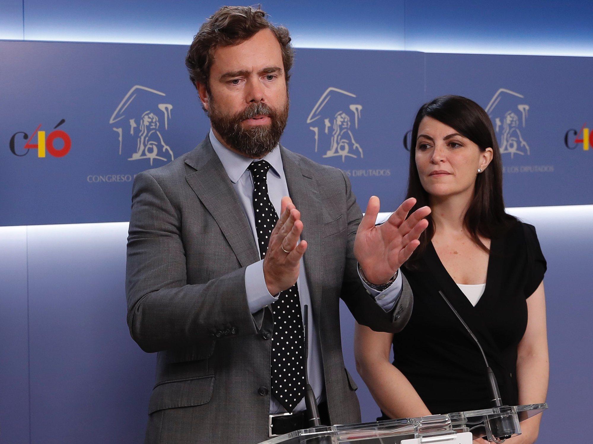 Espinosa de los Monteros (VOX) no ha comunicado sus bienes al Congreso