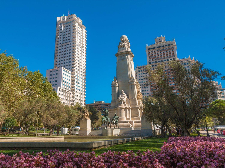 El desconocido patrimonio escondido debajo la Plaza de España de Madrid que para las obras