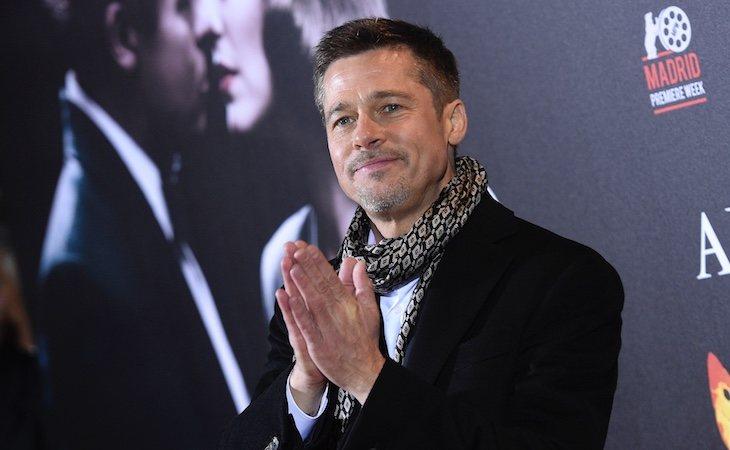 Brad Pitt ha pedido a la organización homófoba que retire su imagen para promover el 'orgullo hetero'