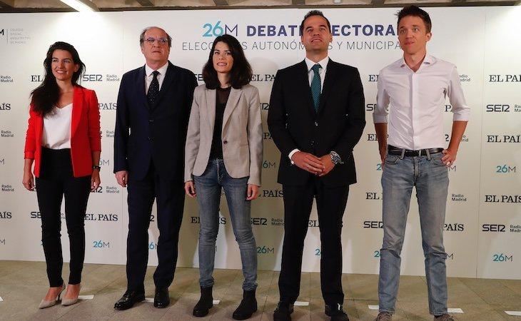 Rocío Monasterio, la candidata de VOX a la Comunidad de Madrid, se reunió con Ignacio Aguado, el candidato de Ciudadanos