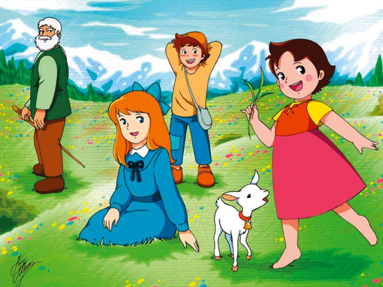 ¿Heidi tiró a Clara por un barranco? El origen del viral meme