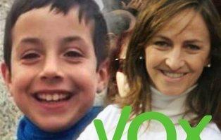 Una diputada de VOX compara al pequeño Gabriel con un feto abortado