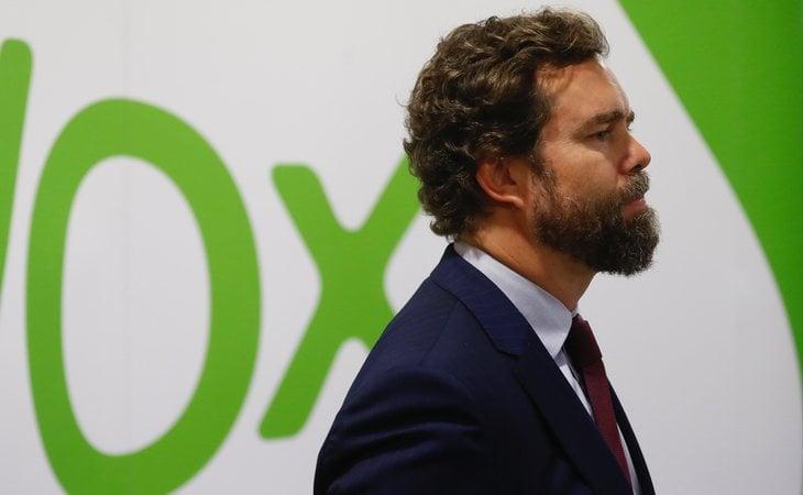 Iván Espinosa de los Monteros, portavoz de VOX en el Congreso, amenazó con prohibir el Orgullo LGTBI