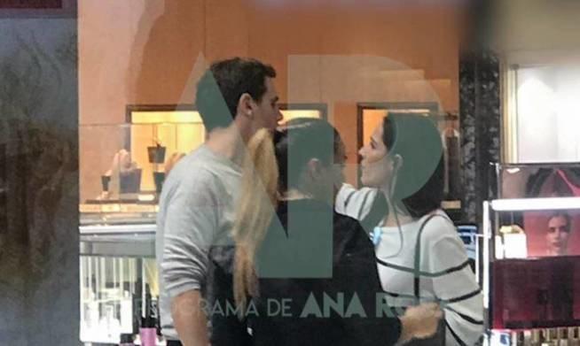 Malú y Albert Rivera, juntos por primera vez en cámara ('Mediaset')