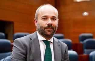 Juan Trinidad (Ciudadanos), nuevo presidente de la Asamblea de Madrid con el apoyo de VOX y PP
