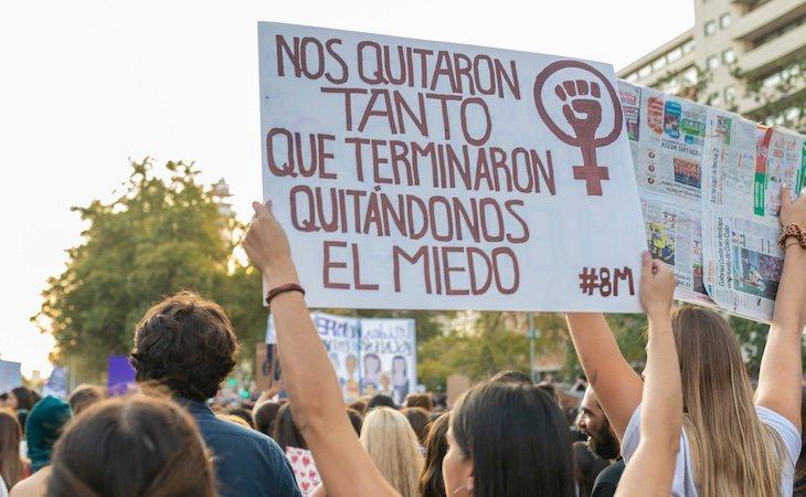 La lucha feminista habla por todas las víctimas mortales de violencia machista